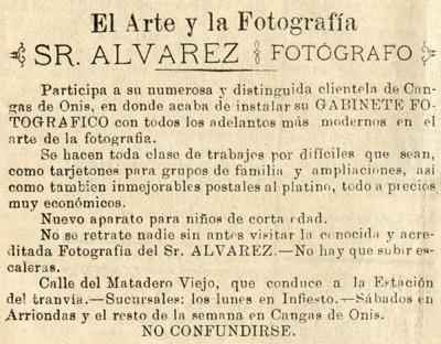 Anuncio de Álvarez