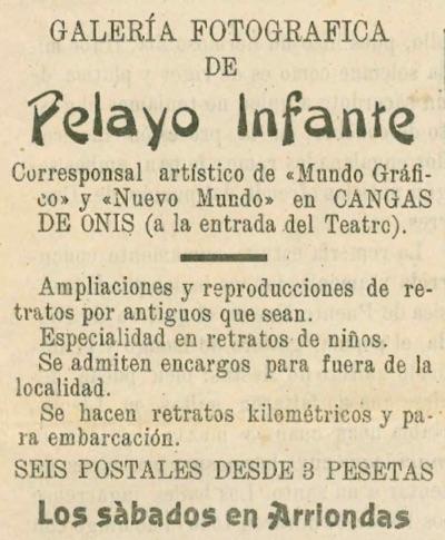 Anuncio Pelayo Infante